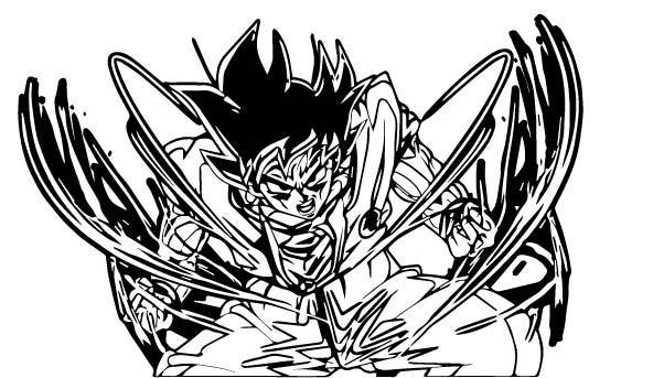 Goku We Coloring Page 183