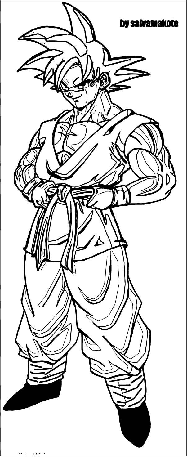 Goku We Coloring Page 184