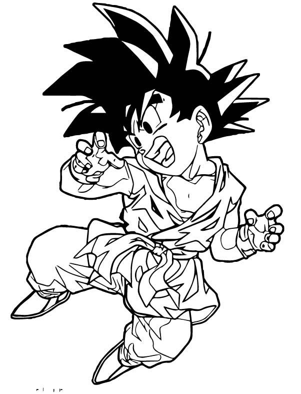 Goku We Coloring Page 185