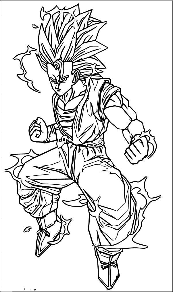 Goku We Coloring Page 187