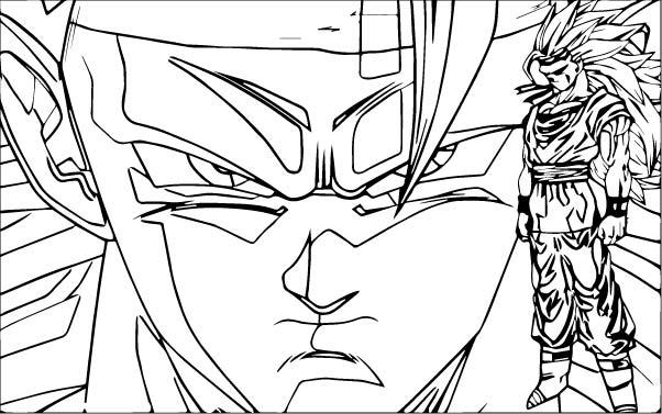 Goku We Coloring Page 188