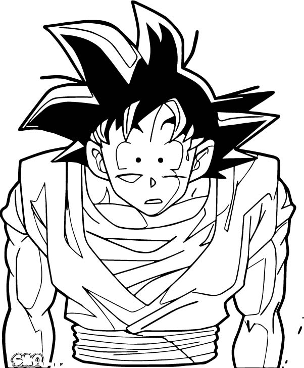 Goku We Coloring Page 191