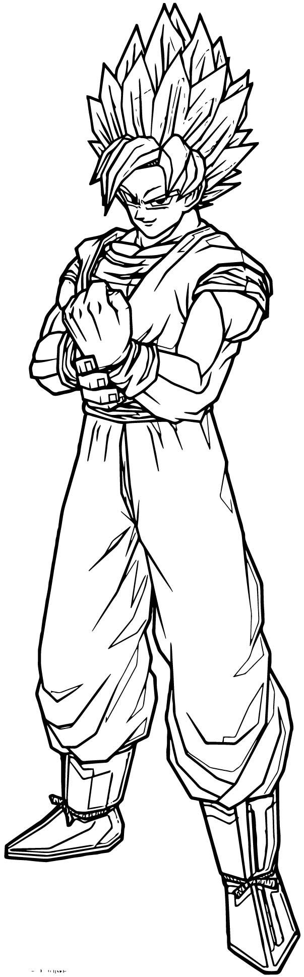 Goku We Coloring Page 192
