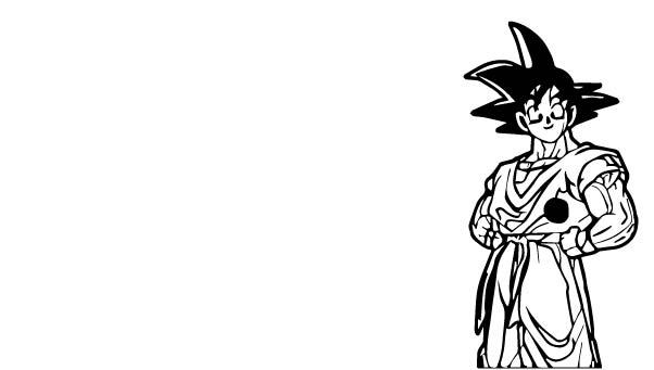 Goku We Coloring Page 199