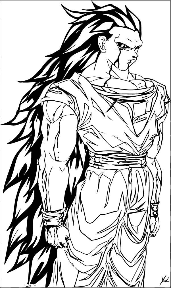 Goku We Coloring Page 203