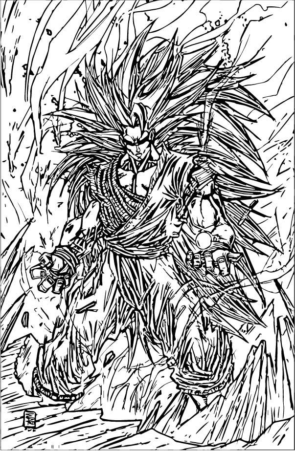 Goku We Coloring Page 204