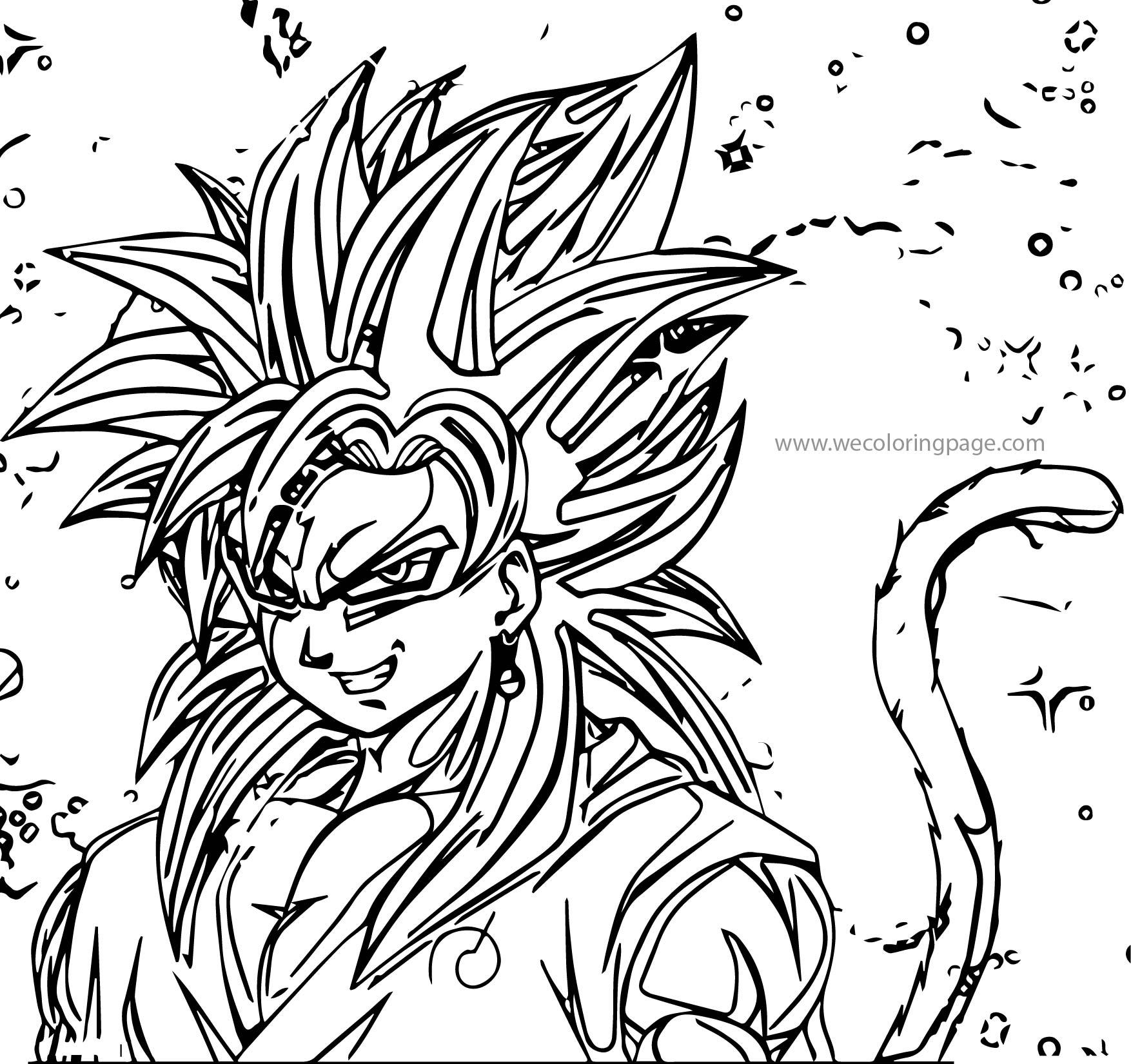 Goku We Coloring Page 206