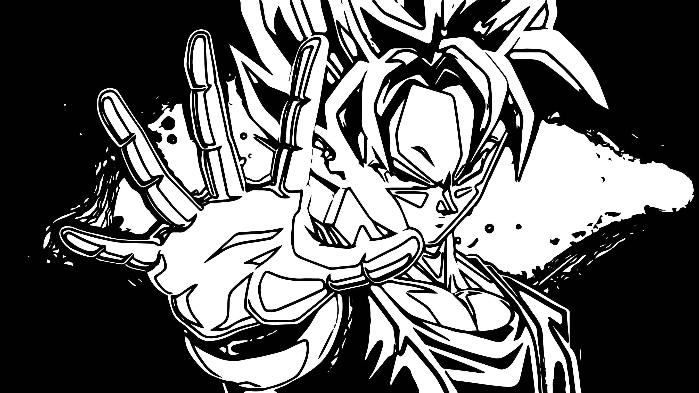 Goku We Coloring Page 207
