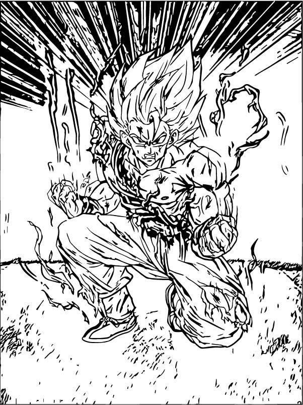 Goku We Coloring Page 215