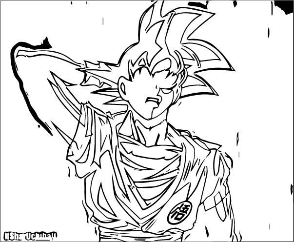 Goku We Coloring Page 217