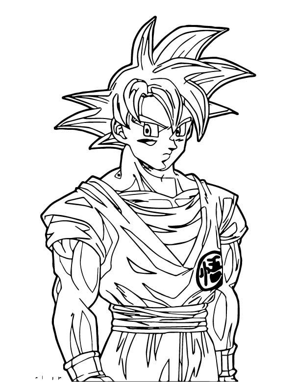Goku We Coloring Page 220