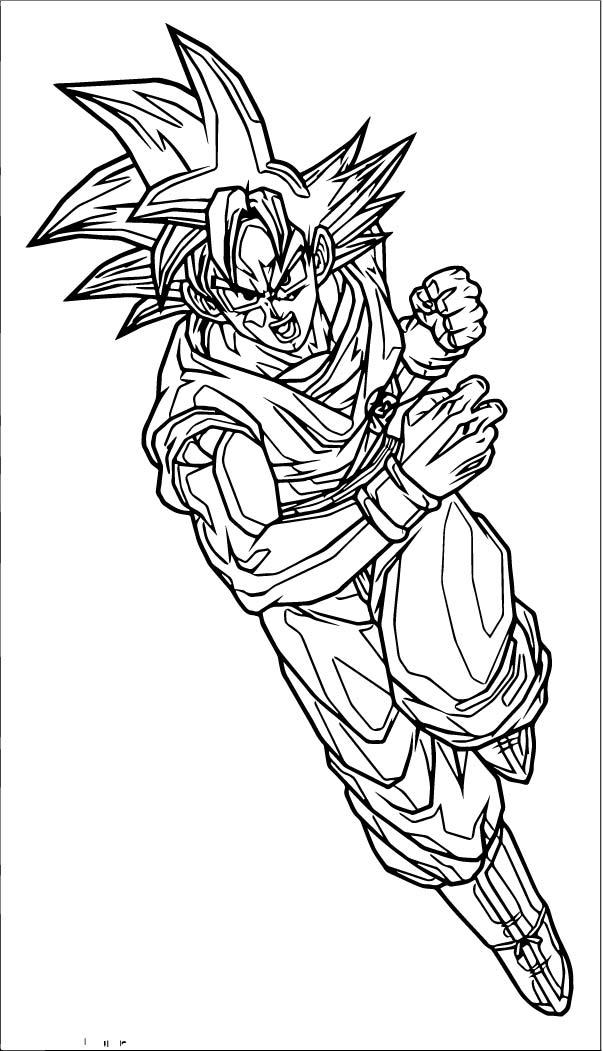 Goku We Coloring Page 221
