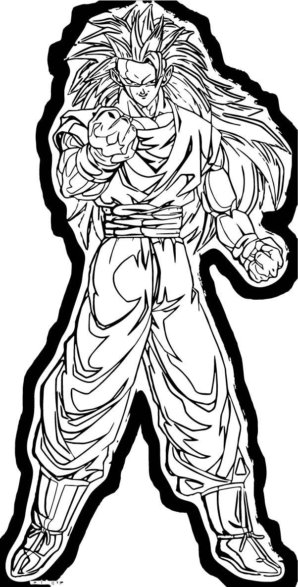 Goku We Coloring Page 222