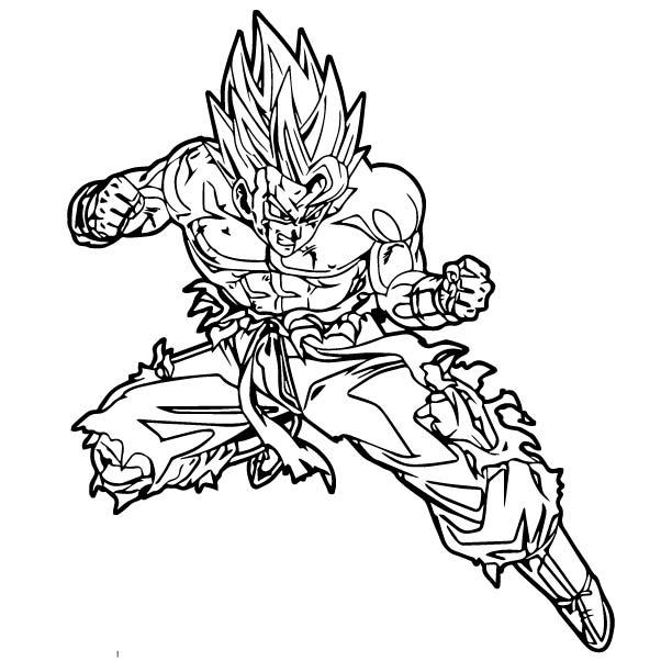 Goku We Coloring Page 225
