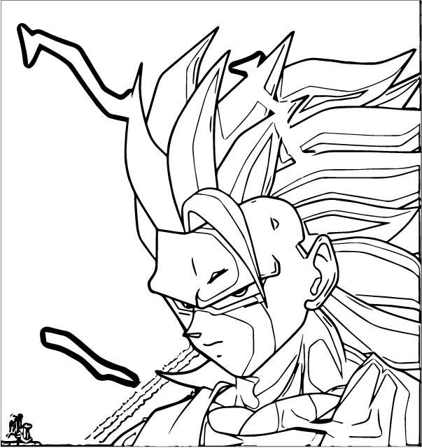 Goku We Coloring Page 231