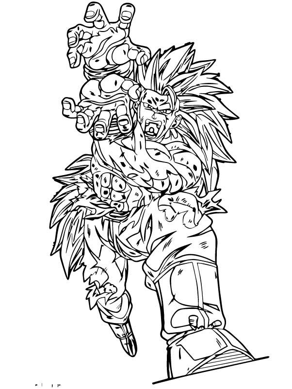 Goku We Coloring Page 232