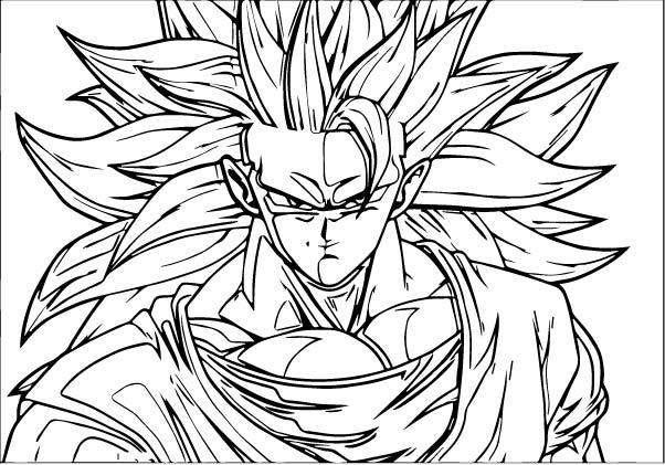 Goku We Coloring Page 233