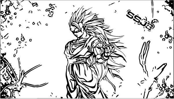 Goku We Coloring Page 235