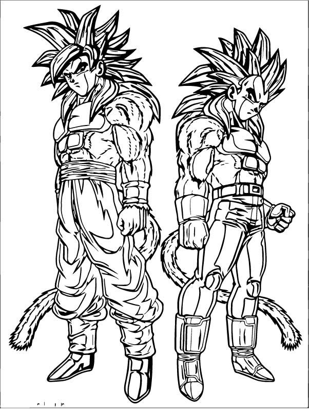 Goku We Coloring Page 237