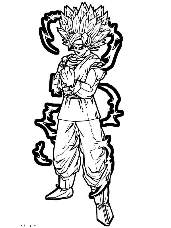 Goku We Coloring Page 241