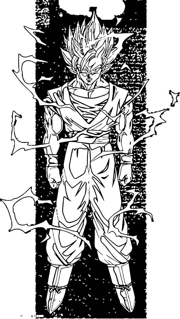 Goku We Coloring Page 245