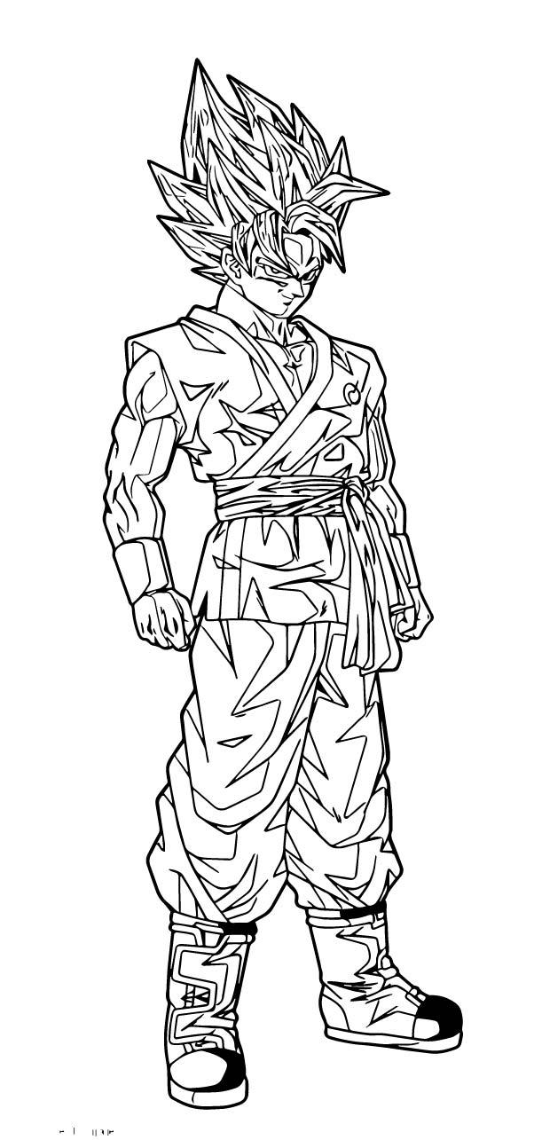 Goku We Coloring Page 253