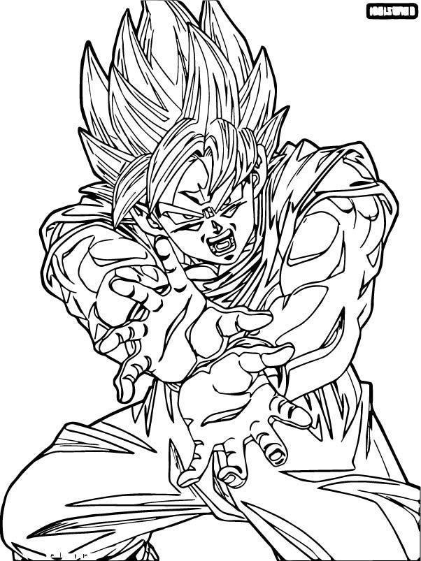 Goku We Coloring Page 255