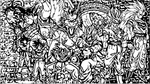 Goku We Coloring Page 261