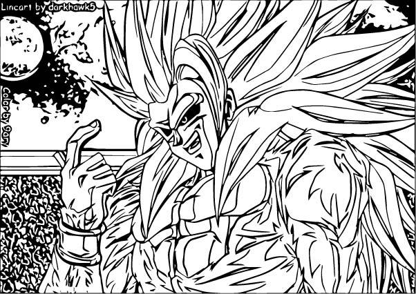 Goku We Coloring Page 263