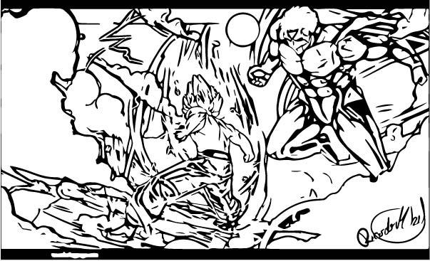 Goku We Coloring Page 265