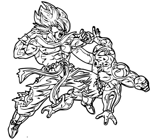 Goku We Coloring Page 267