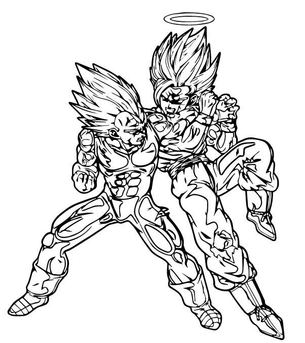 Goku We Coloring Page 268