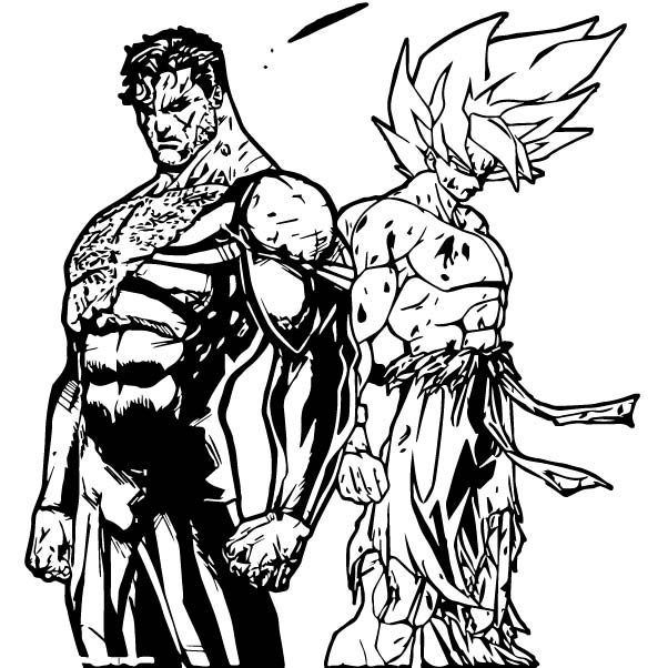 Goku We Coloring Page 270