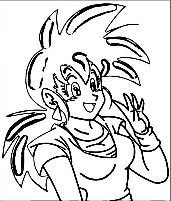 Goku We Coloring Page 275