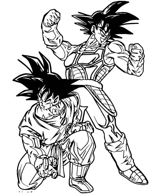 Goku We Coloring Page 278