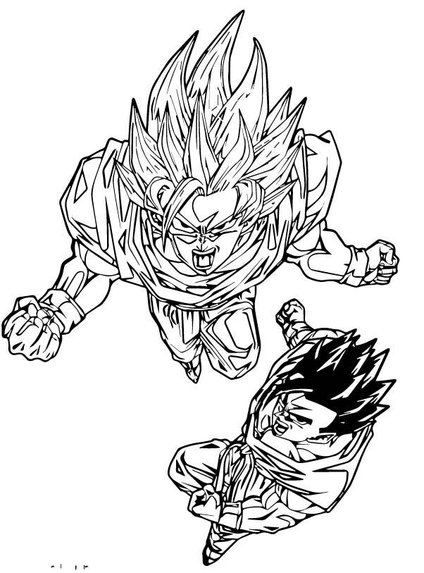 Goku We Coloring Page 280