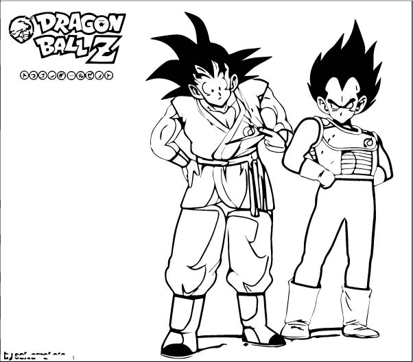 Goku We Coloring Page 281