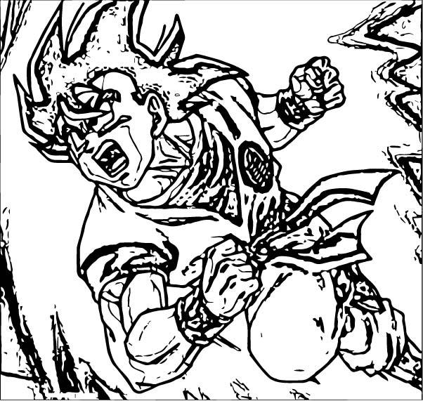Goku We Coloring Page 285