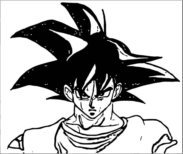 Goku We Coloring Page 286