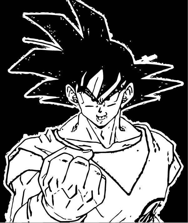 Goku We Coloring Page 287