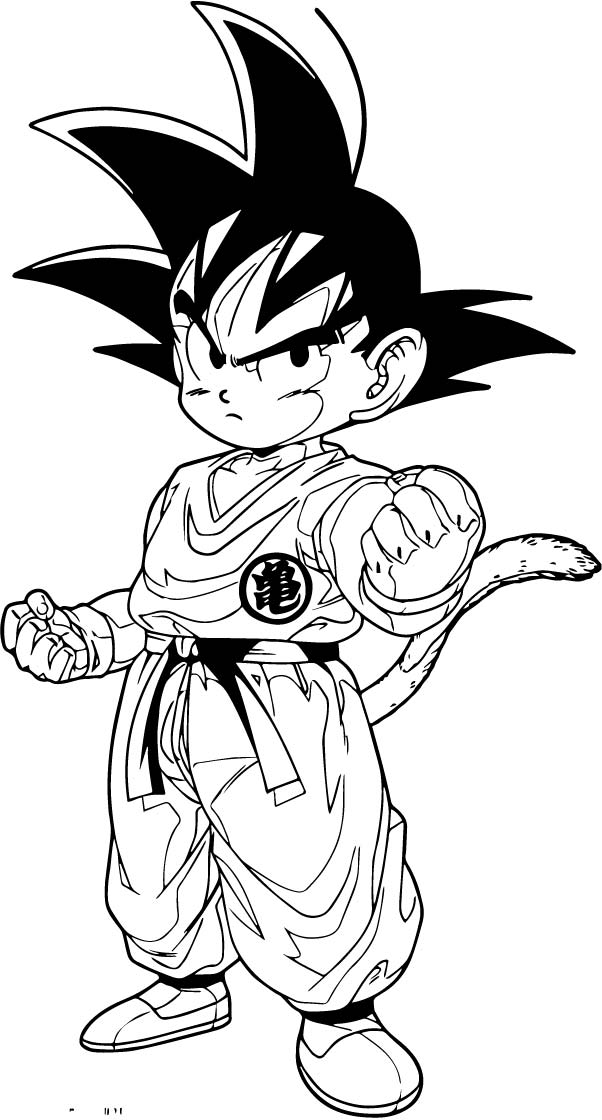 Goku We Coloring Page 288