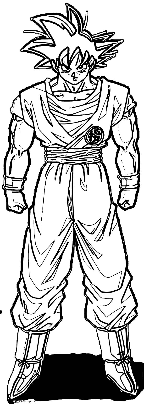 Goku We Coloring Page 289