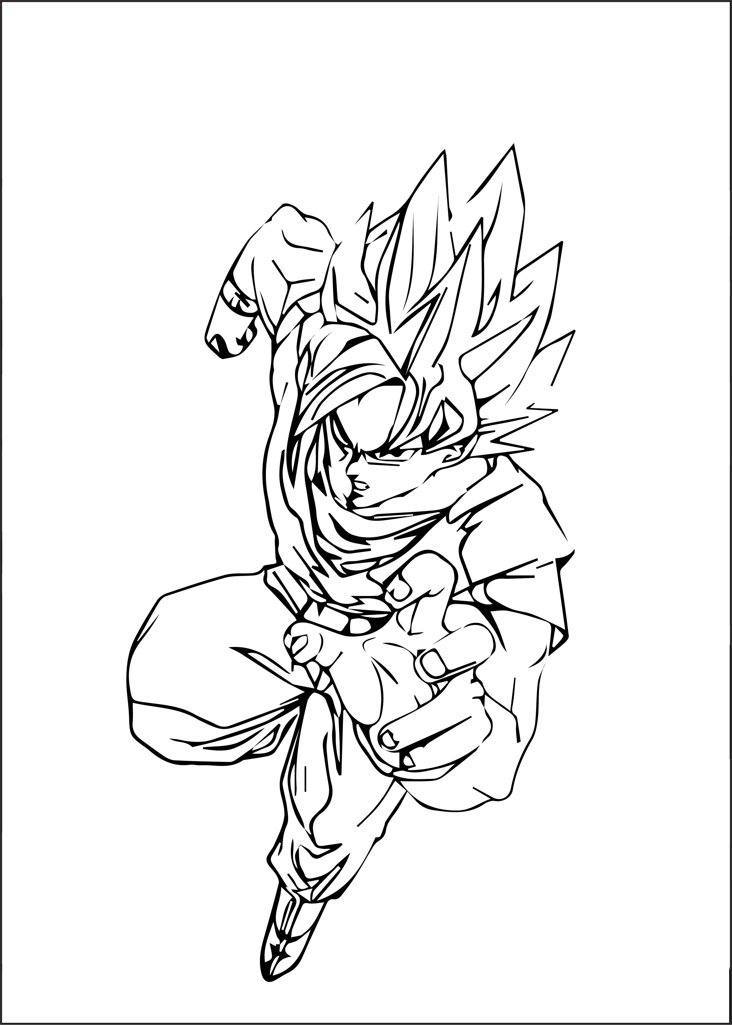 Goku We Coloring Page 290