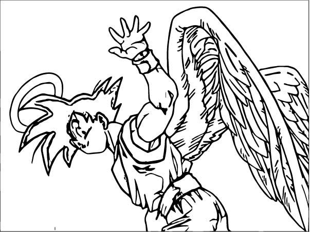 Goku We Coloring Page 293