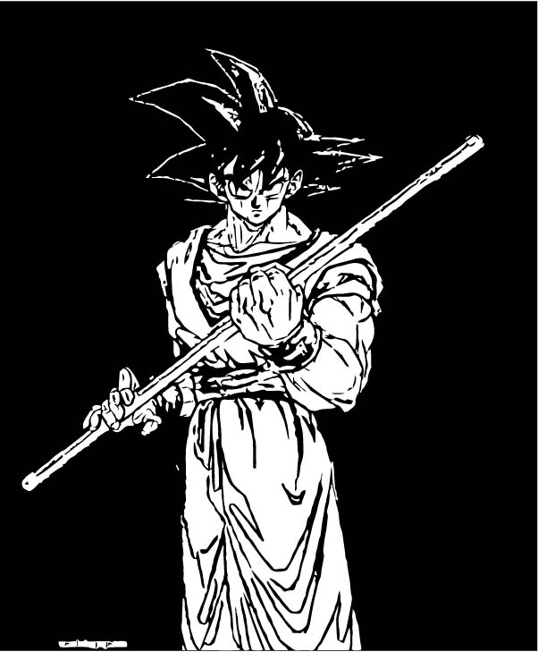Goku We Coloring Page 295