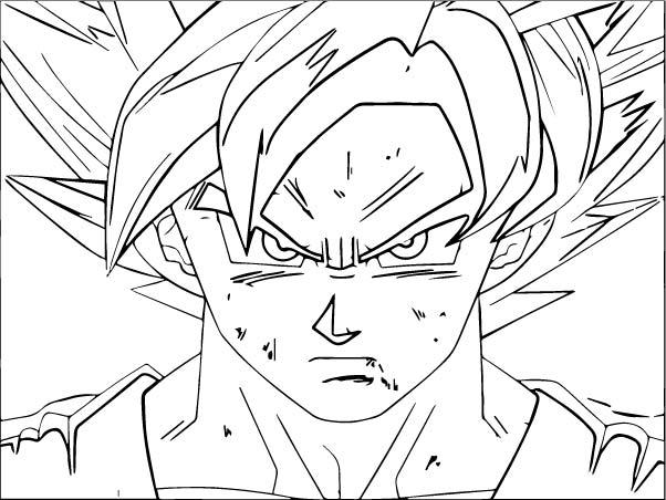 Goku We Coloring Page 297