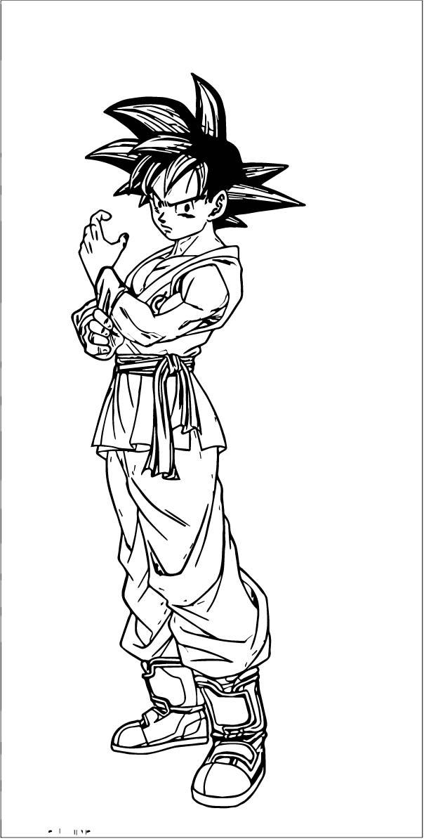 Goku We Coloring Page 298