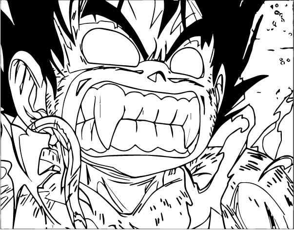 Goku We Coloring Page 304