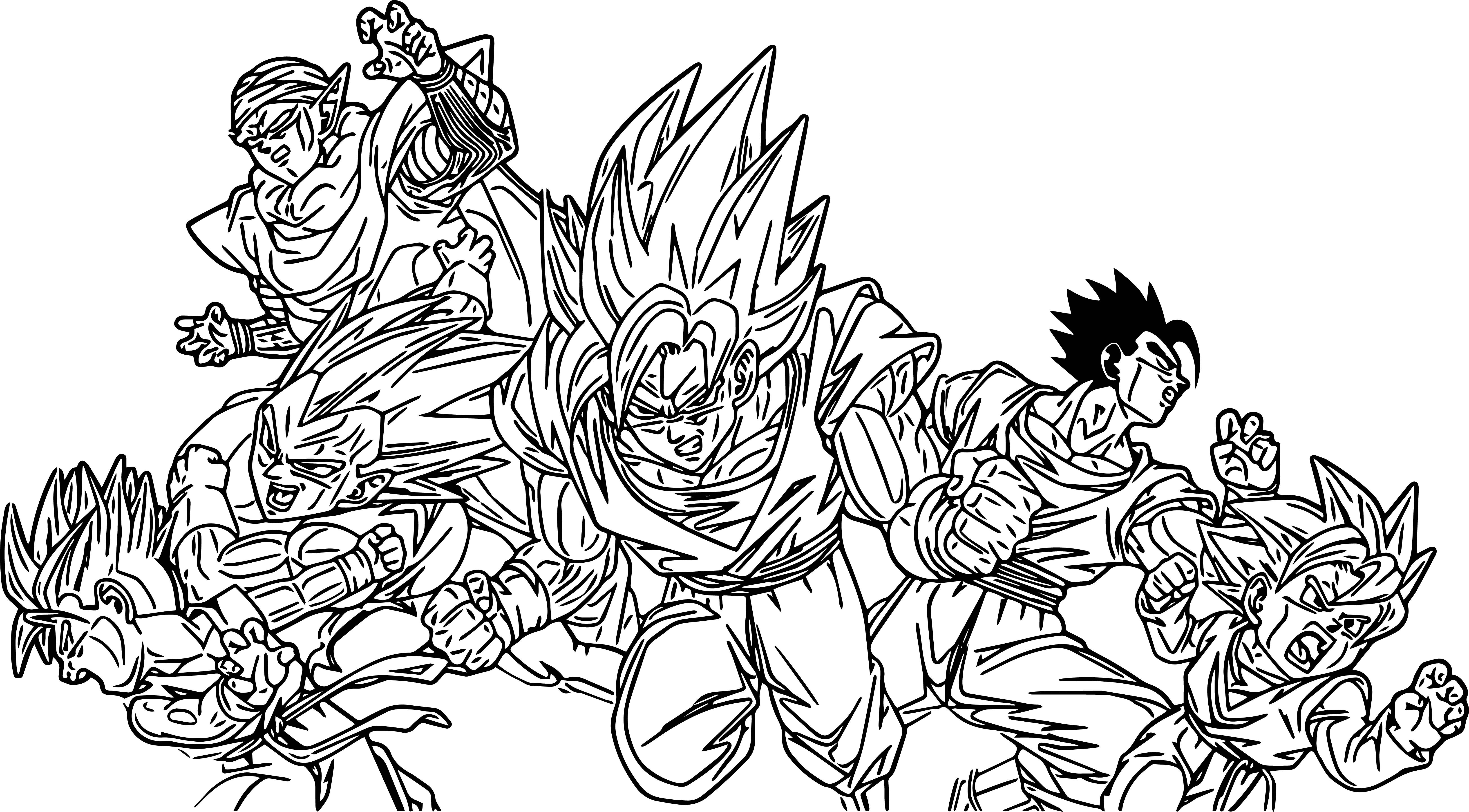 Goku We Coloring Page 307