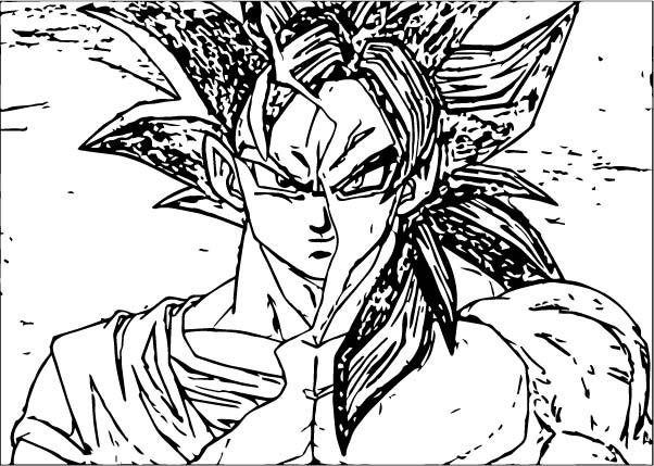 Goku We Coloring Page 308